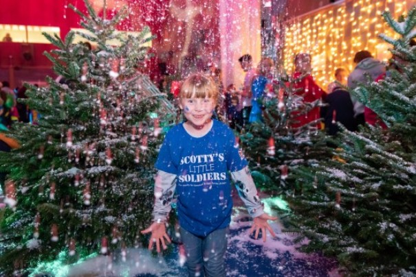 Bringing Festive Cheer To Bereaved Kids