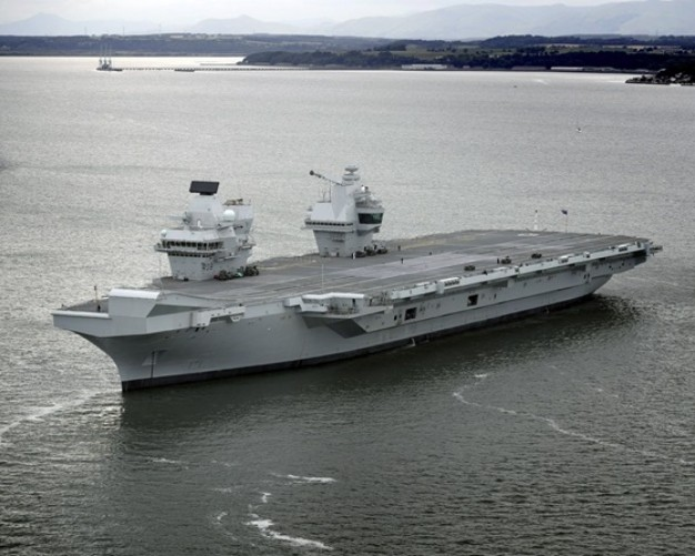 Rosyth Yard Awarded HMS Queen Elizabeth Contract