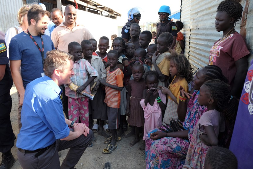 Williamson Commends UK Peacekeepers In Sudan