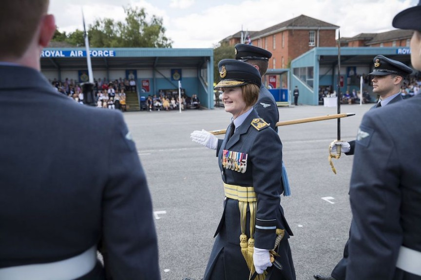 First Female Three-Star Commander Appointed