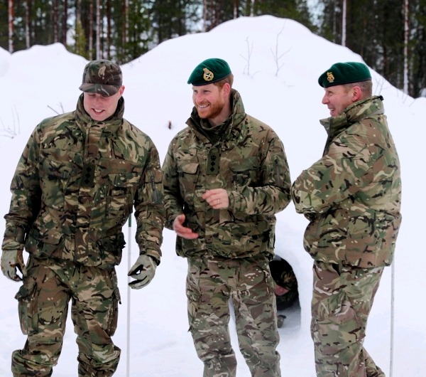 Duke Of Sussex VisitsSailors And Marines In The Arctic
