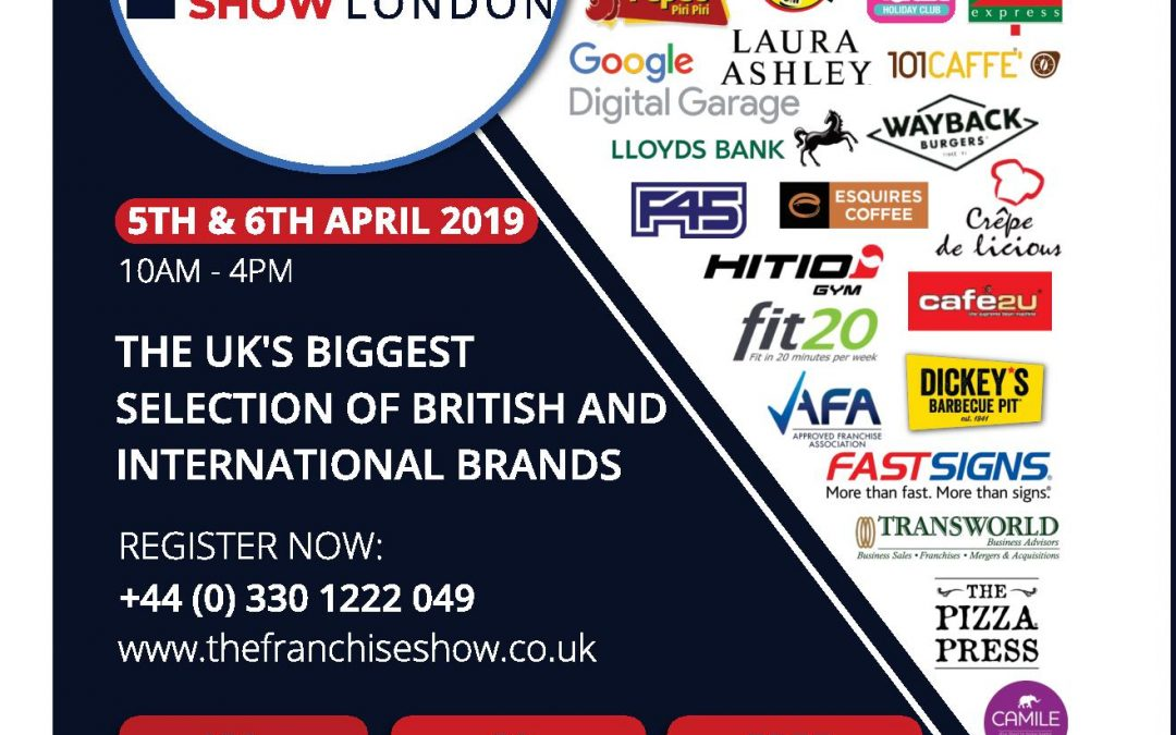 Are You Attending The International Franchise Show London 2019?