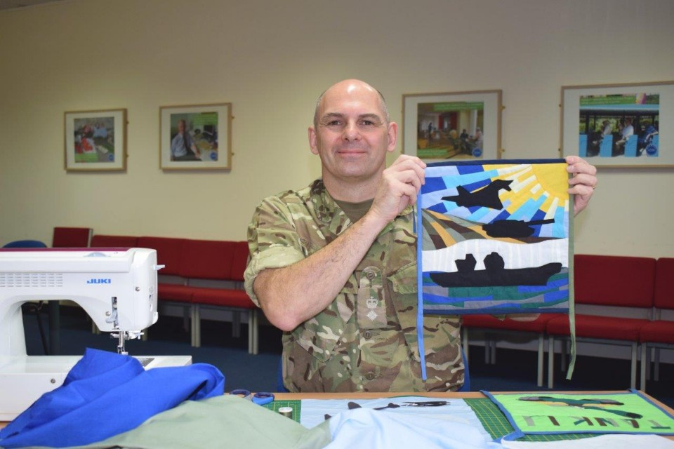 The Sewing Soldier – Flags Of Thanks