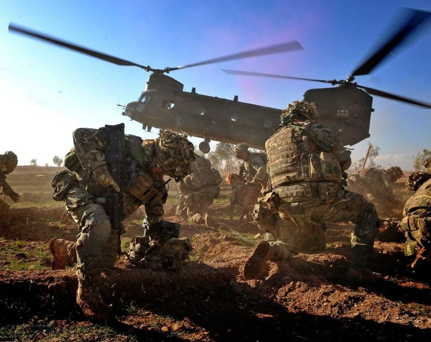 10,000 Troops From 13 Countries Arrive In UK