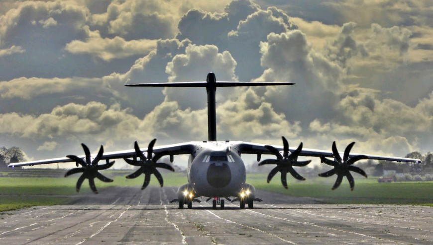 RAF To Fly Aid To Mozambique