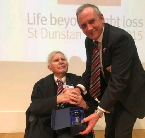 Blind Veterans UK Appoints First Honorary Fellow