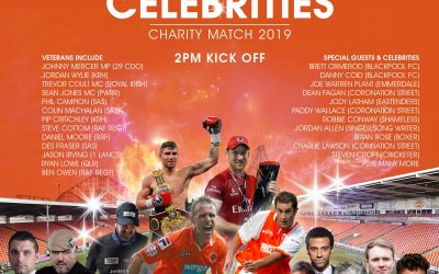 Veterans Versus Celebrities Football Match 2019, Blackpool FC