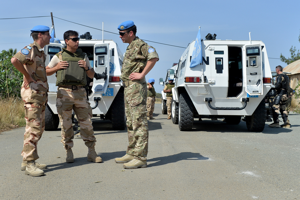Closer Defence Ties With Cyprus