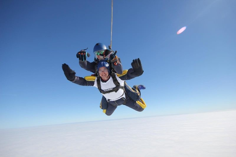 The Sky's The Limit For RAF Fundraisers