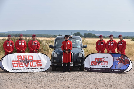 Chelsea Pensioner To Complete 100th Parachute Jump