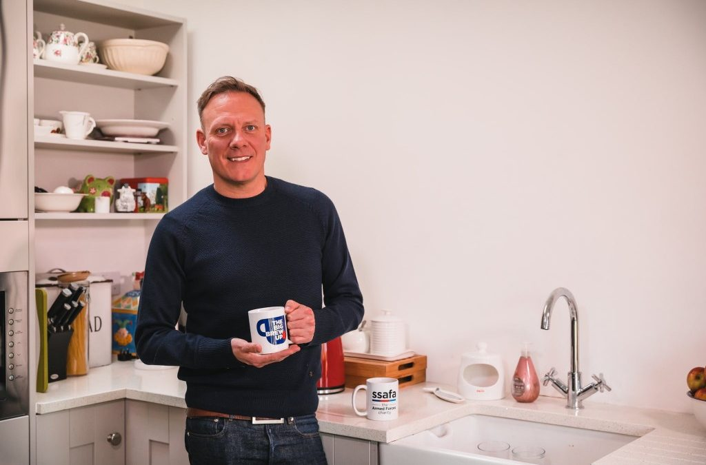 Antony Cotton Brews Up With The Forces Community