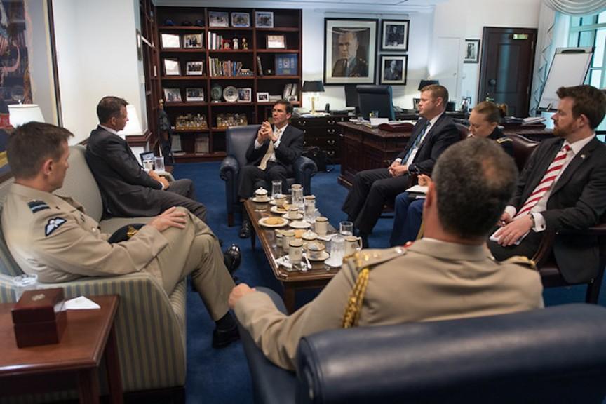 Armed Forces Minister Visits Washington
