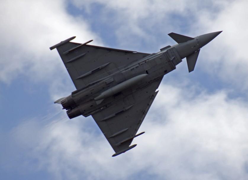 Typhoons Scramble To Intercept Russian Fighters