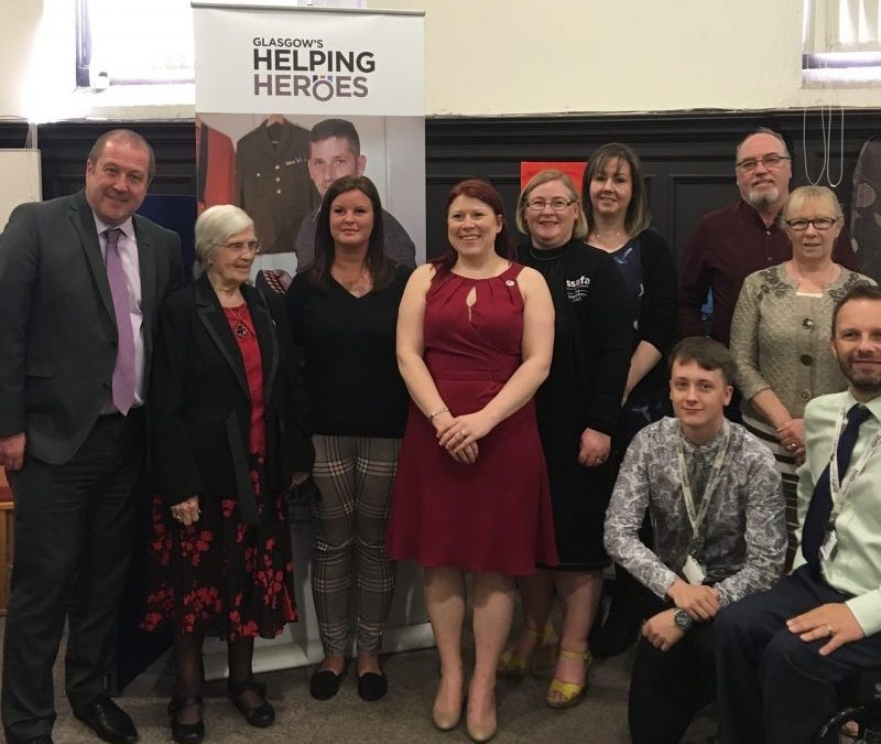 Veterans Minister Visits 'Helping Heroes'