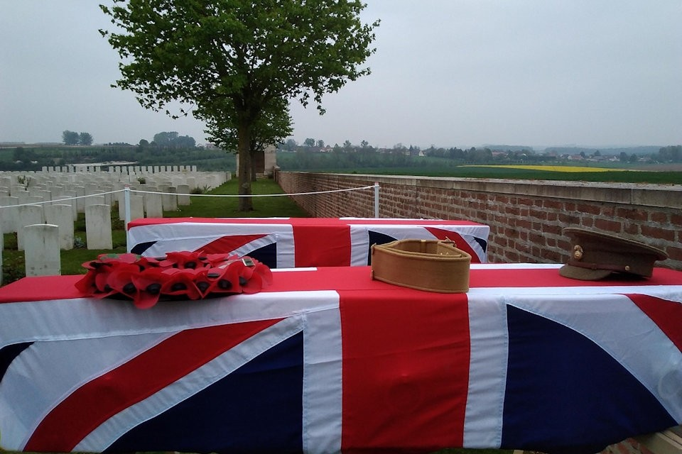 Great War Soldiers Given Military Burial