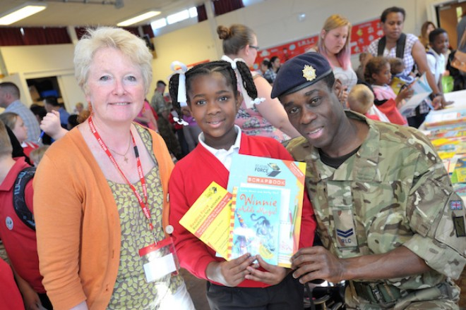 Point Of Light Award For Reading Force Founder