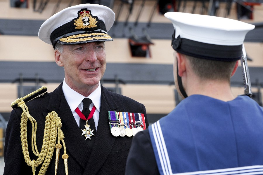 New First Sea Lord Appointed