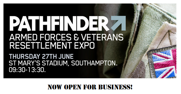 The Pathfinder Armed Forces & Veterans Resettlement Expo Is Now On!