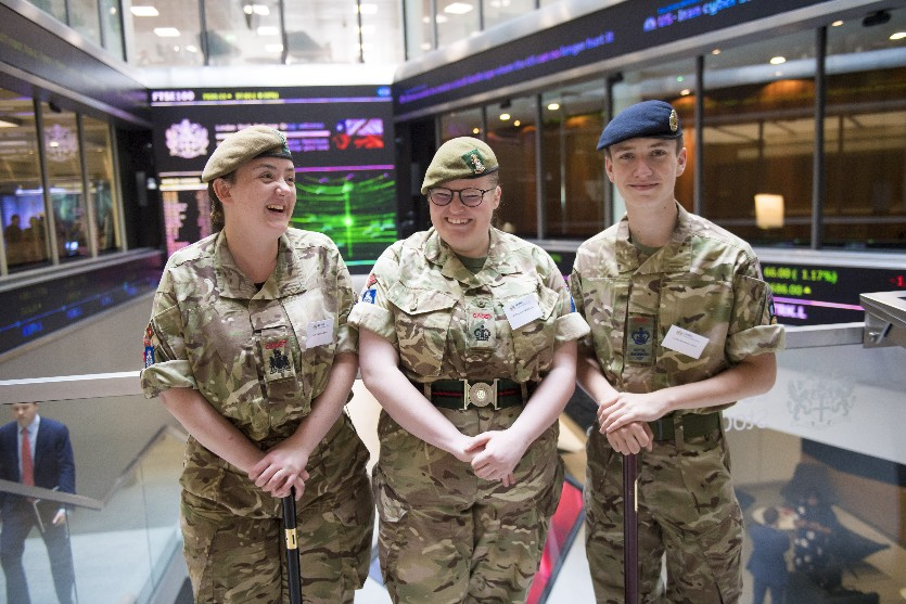 Enterprising Cadets Graduate At Stock Exchange