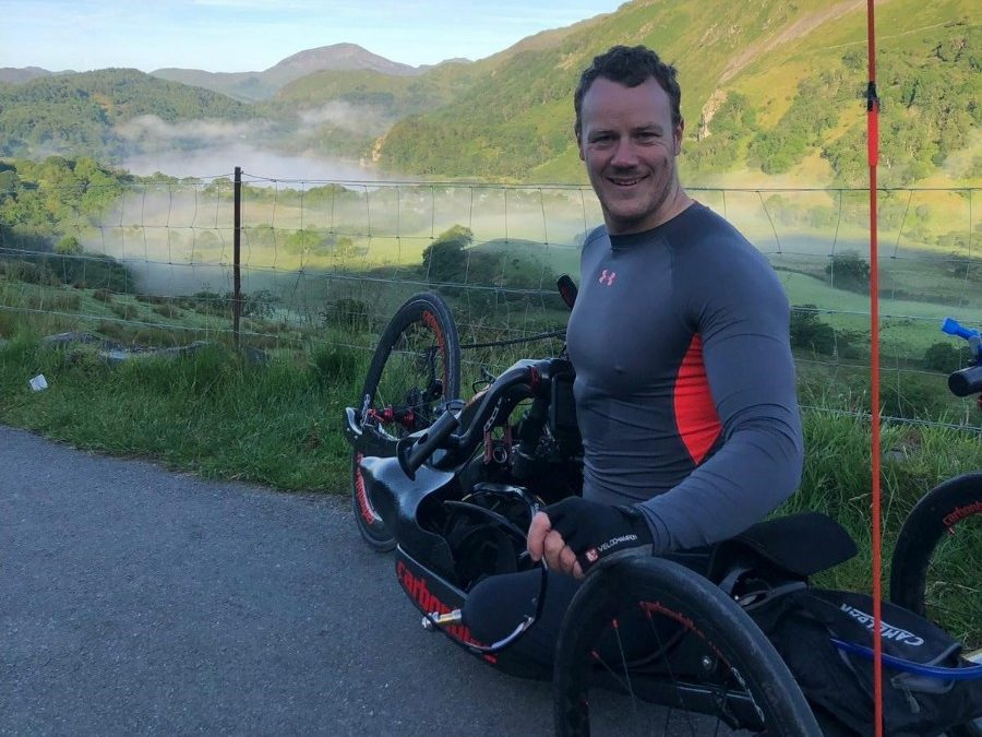 Injured Veteran Gears Up For Handcycle Record