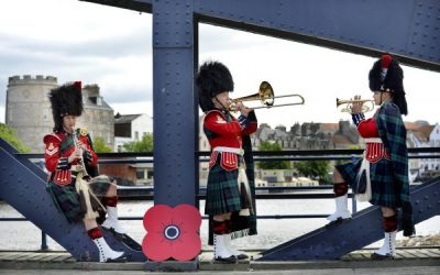 Military Band On The Road Again
