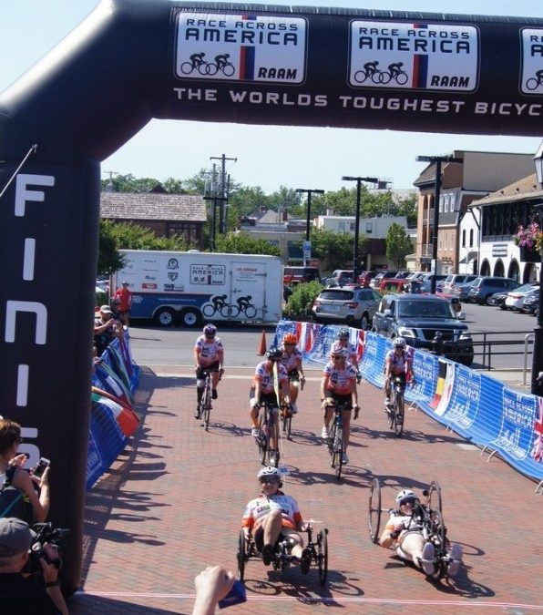 History Made At Race Across America 2019!