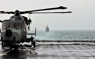 British And Indian Navies Join Forces