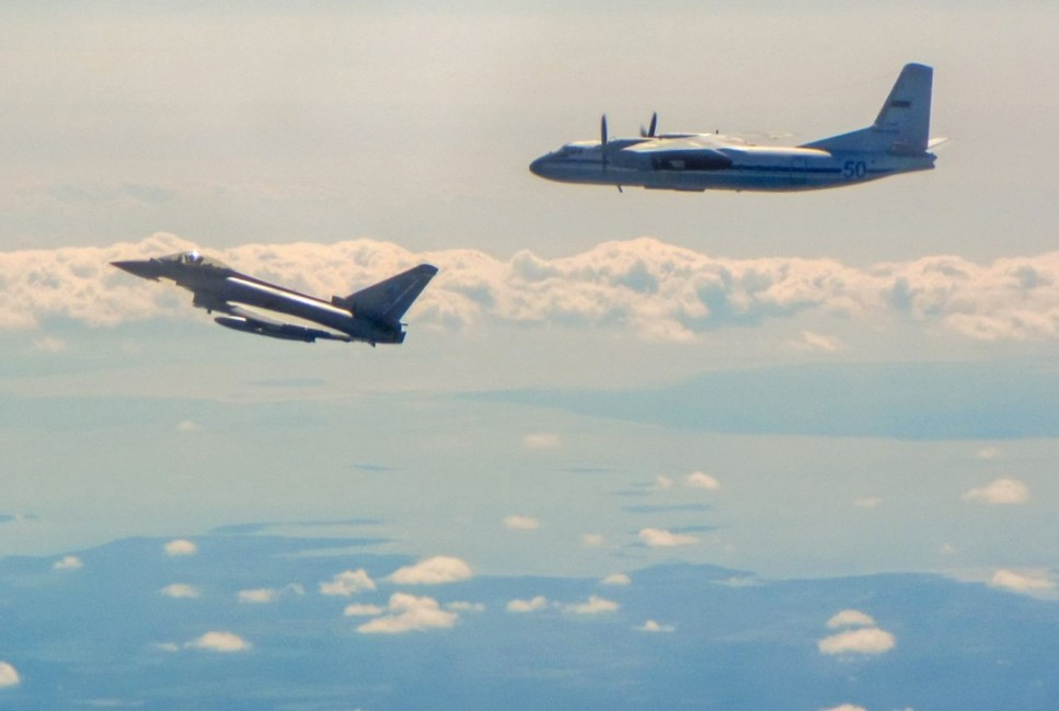 Typhoons Intercept Russian Military Aircraft