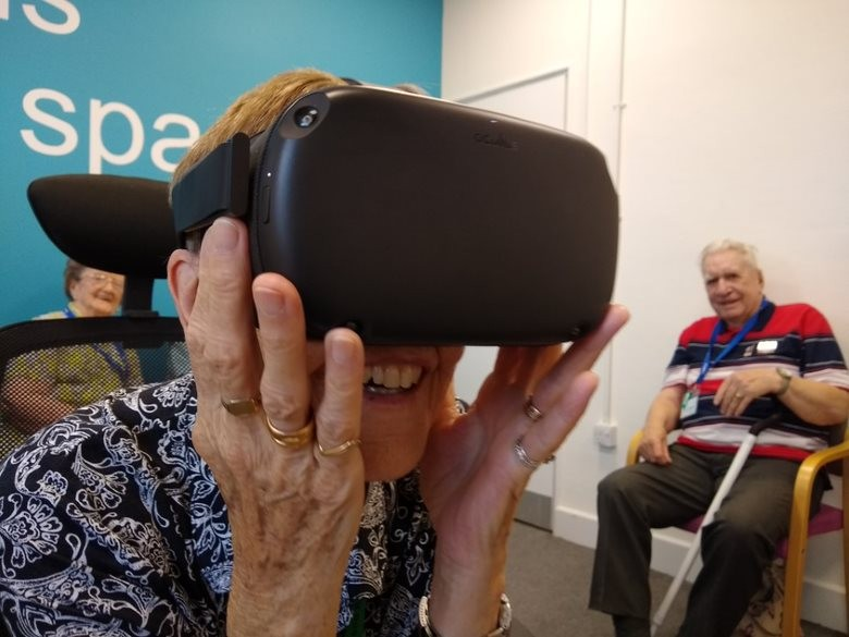 Blind Veterans In Virtual Reality Trial