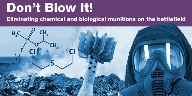 Eliminating Chemical And Biological Munitions