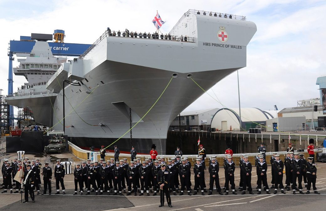 Portsmouth Prepares For Second Aircraft Carrier