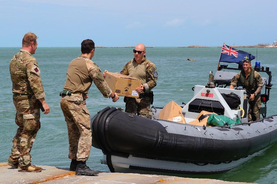 Royal Navy Deploys Medics To Bahamas