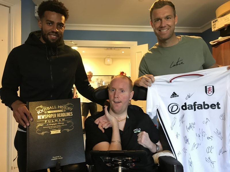 Fulham Players Surprise Ex-Soldier