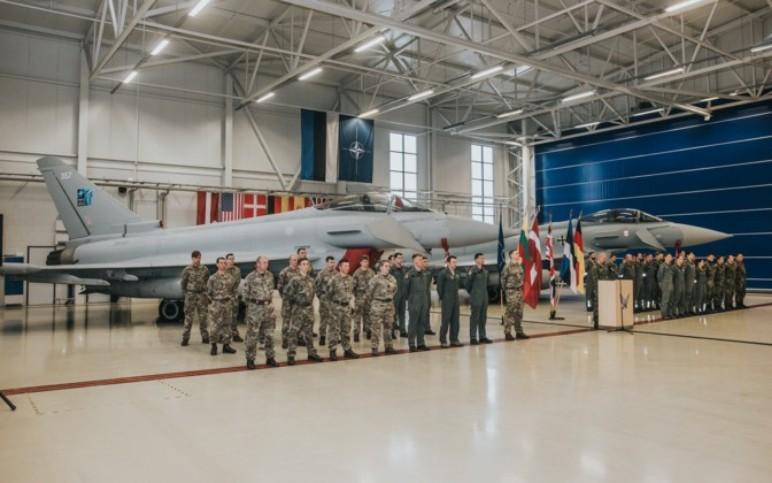 Typhoons Complete NATO Mission In Estonia