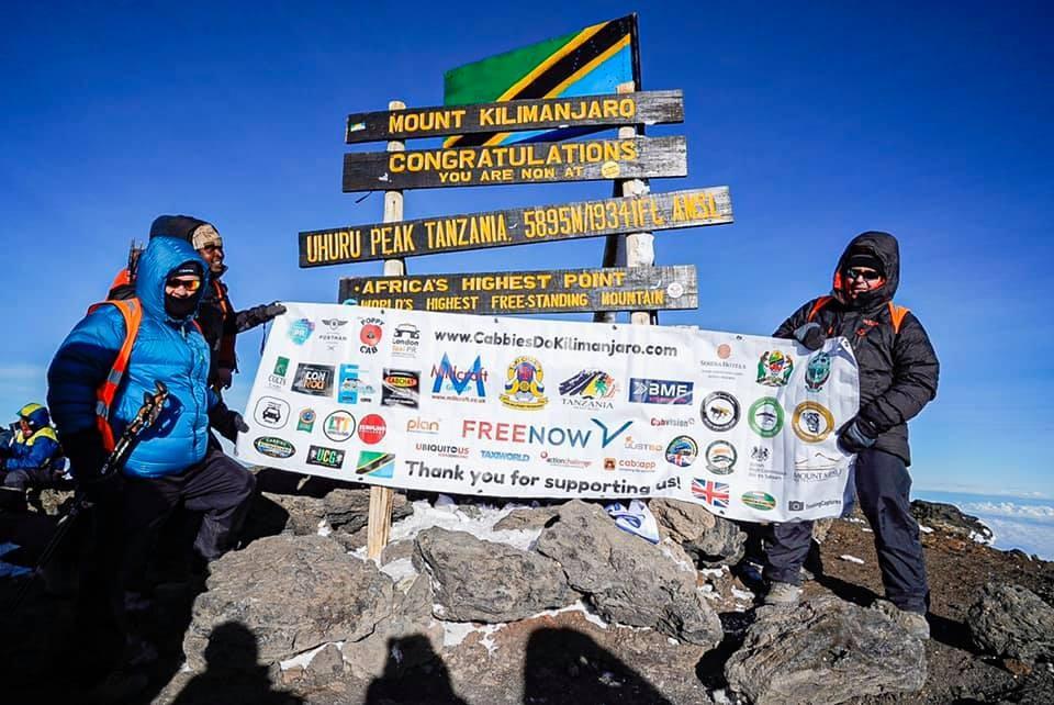 Cabbies Successfully Summit Kilimanjaro