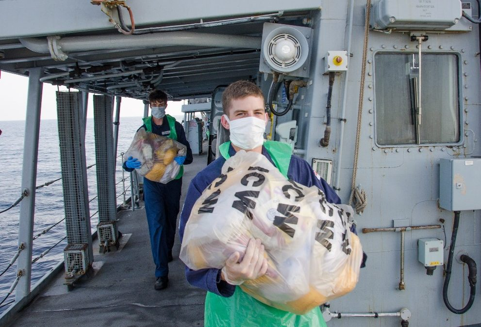Royal Navy In Major Arabian Sea Drugs Haul