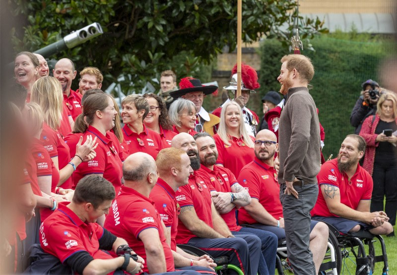 Team UK Unveiled For Invictus Games 2020