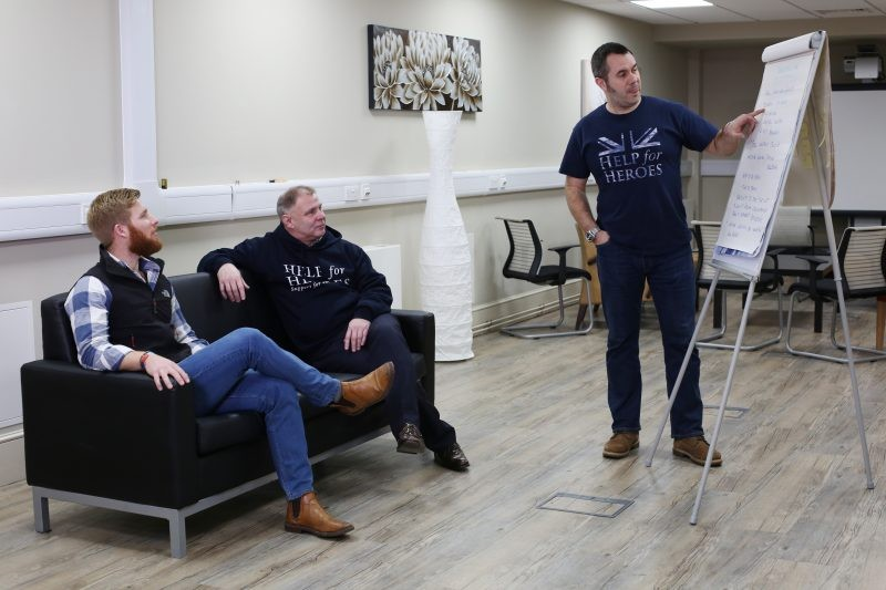 Help For Heroes Launches Recovery College