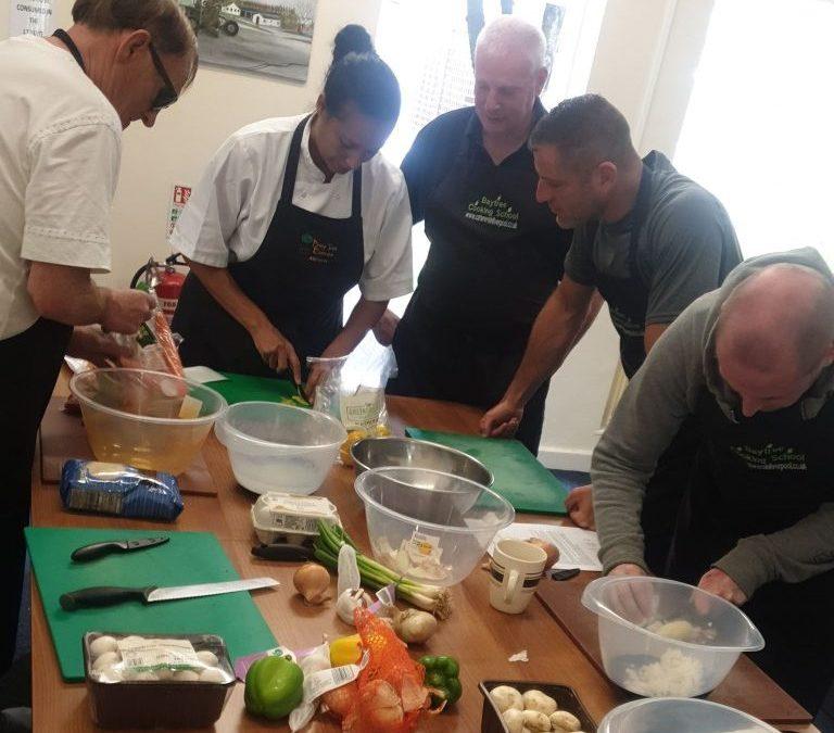 Liverpool Veterans Cooking Up A Storm