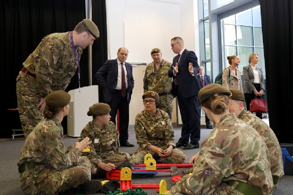Cadet Expansion Programme Reaches Target
