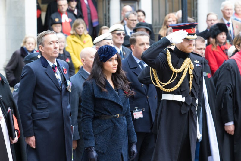 Royals Attend Poppy Factory's Field Of Remembrance