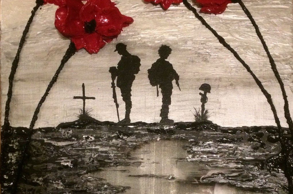 Armed Forces Lead The Nation In Remembrance