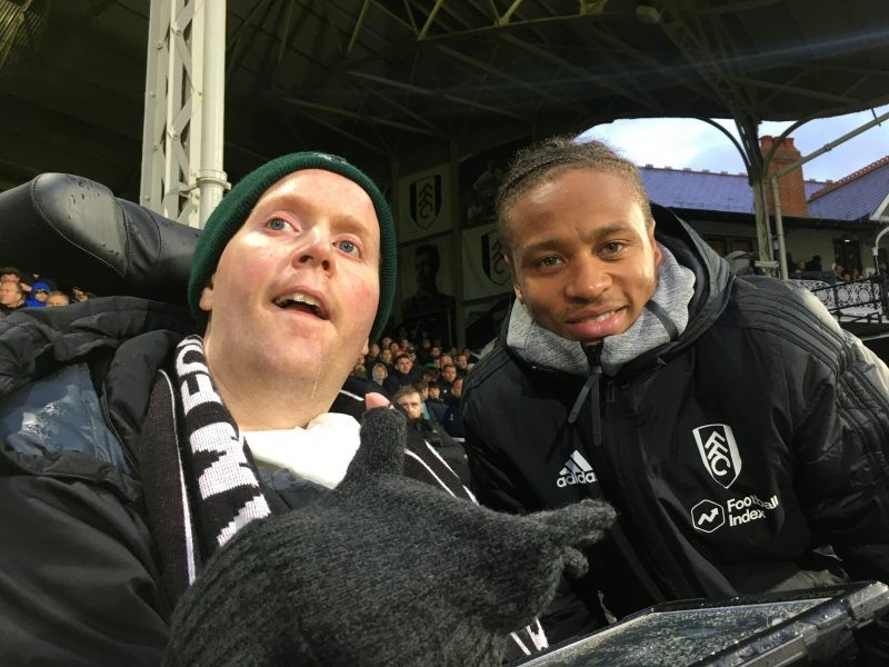 Ex-Soldier Given VIP Treatment By Fulham FC