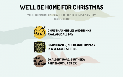 All Call Signs Community RV Open Christmas Day
