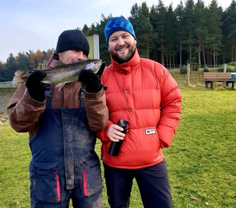 Ex-Military Fishing For Mental Health