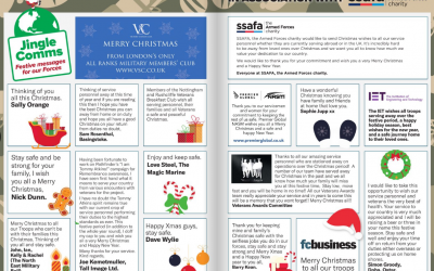 Pathfinder's Jingle Comms Messages For The Troops 2019 In Association With SSAFA