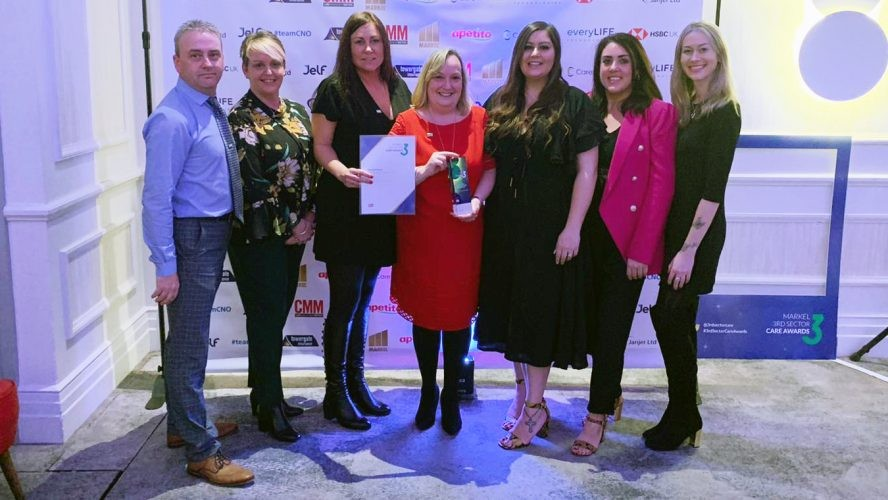 Celebrating Success At Care Awards