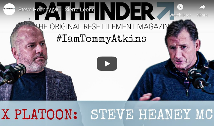 """Watch! The Pathfinder International Interview With Steve Heaney MC On His Mission In Sierra Leone As Part Of The """"I Am Tommy Atkins!"""" Campaign"""