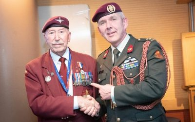 Medal Presentation For WWII Veteran