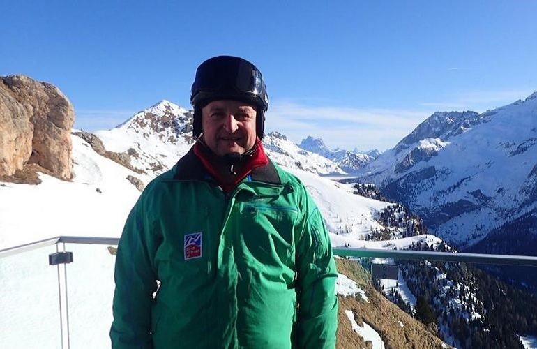 Blind Veteran Skier Returns To The Slopes